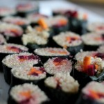 Quinoa Sushi (No fish!)