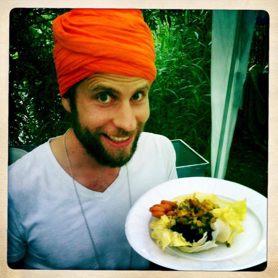Serving Yogi