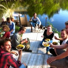 Yogadine @ Cafe De Ceuvel Amsterdam Noord