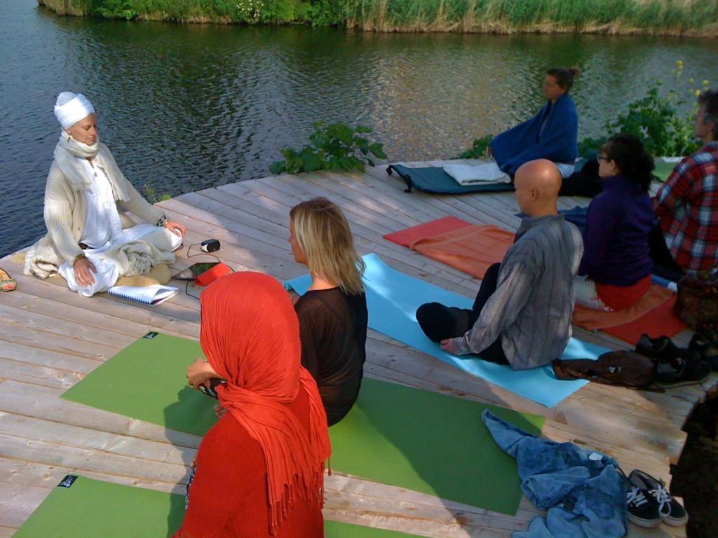 Yoga op de steiger 2